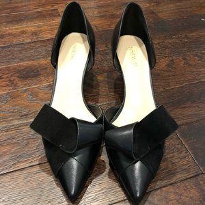 Nine West size 11 black heels